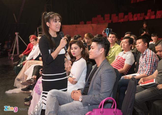 Le Phuong va chong sap cuoi lan dau tham gia game show hinh anh 2