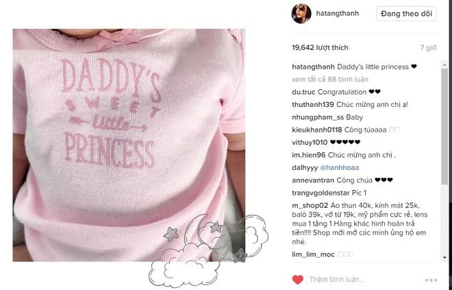Tang Thanh Ha sinh con thu 2 anh 1