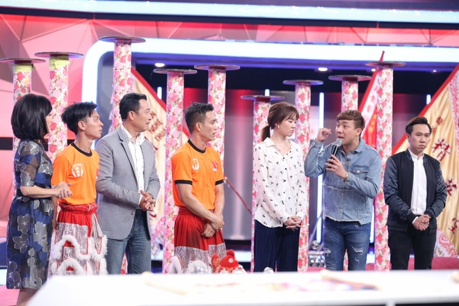 Tran Thanh guc mat len vai Hari Won khoc o game show hinh anh 5