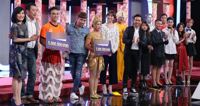 Tran Thanh guc mat len vai Hari Won khoc o game show hinh anh 10