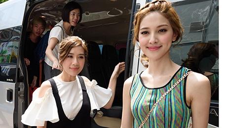 Hoa hau Hong Kong va sao TVB vui ve giao luu voi sinh vien Viet hinh anh