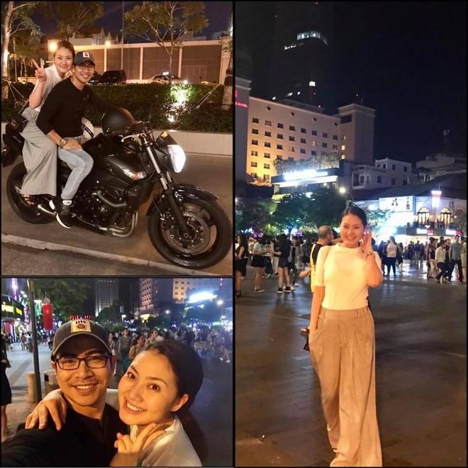 Hoa hau Dang Thu Thao va ban trai doanh nhan du lich o Da Nang dip le hinh anh 8
