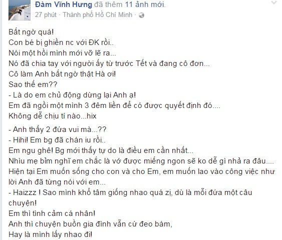 Ha Ho chia tay dai gia Chu Dang Khoa anh 1