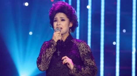 Hoang Yen Chibi bi che gia khong giong 'Nu hoang sau muon' Giao Linh hinh anh
