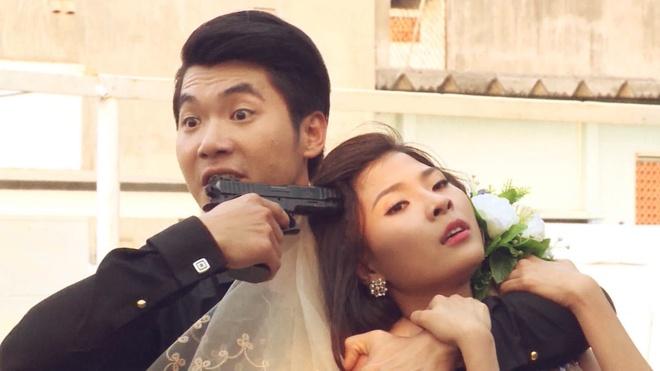 Luong The Thanh yeu don phuong ba xa Thuy Diem trong phim hinh anh 2