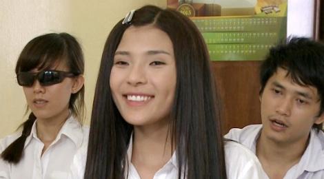 Luong The Thanh yeu don phuong ba xa Thuy Diem trong phim hinh anh