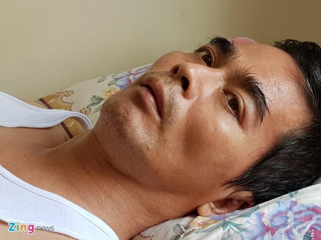 Dien vien Nguyen Hoang bi tai bien anh 1