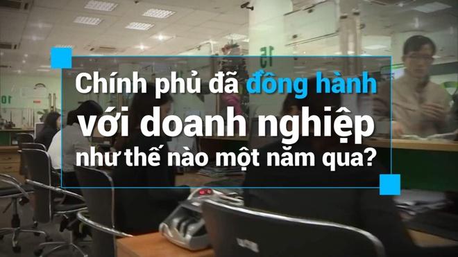 Chinh phu da dong hanh voi doanh nghiep the nao mot nam qua? hinh anh