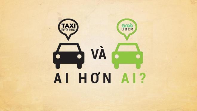 So sanh taxi truyen thong va Grab, Uber: Ai hon ai? hinh anh