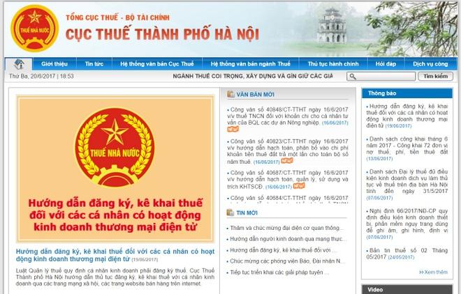 Ha Noi yeu cau 13.422 nguoi kinh doanh tren Facebook ke khai thue hinh anh 2