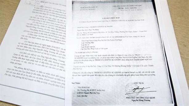 Doanh nghiep Sai Gon mao nhan duoc cap phep kinh doanh tien ao hinh anh 1