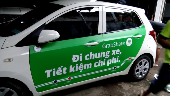 Ha Noi cuong quyet cam GrabShare, UberPOOL hinh anh 1