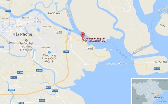 Giu 2 container cho day dong ho Phap tai cang Hai Phong hinh anh 2