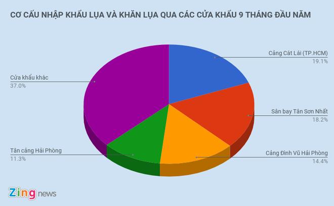 Khan Trung Quoc nhap ve Viet Nam gia trung binh 28.000 dong mot chiec hinh anh 2