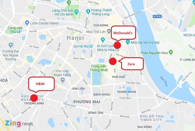 Zara, H&M, McDonald's ton bao nhieu tien de thue mat bang tai Ha Noi? hinh anh 4