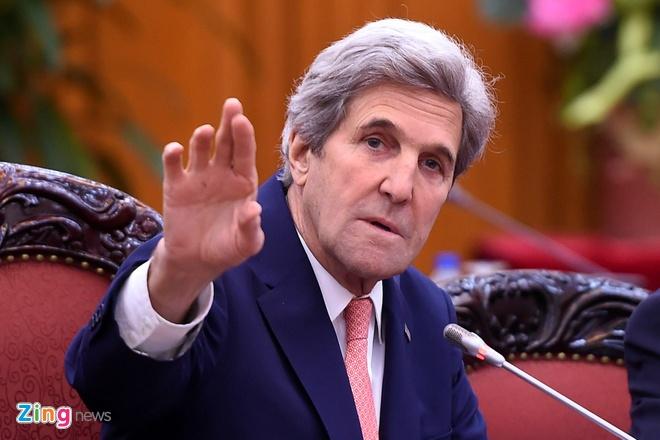 Cuu ngoai truong My John Kerry keu goi su dung nang luong xanh o VN hinh anh