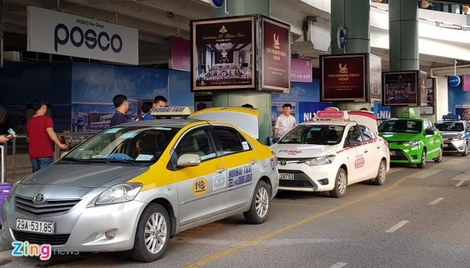 Hiep hoi taxi Ha Noi, Da Nang, TP.HCM lai 'dong thanh' keu cuu Bo GTVT hinh anh 1