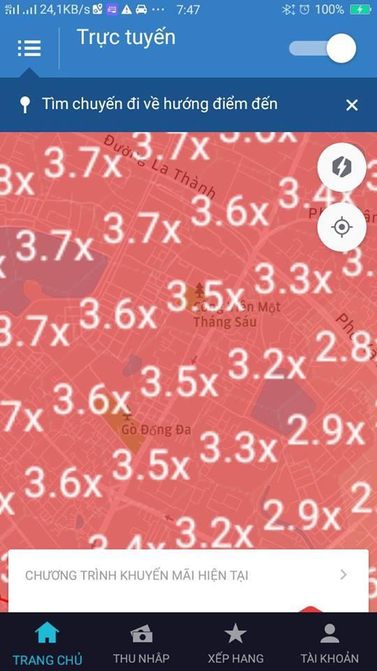 Grab, Uber tang gia gap 3 lan dip Tet: Can minh bach? hinh anh 3