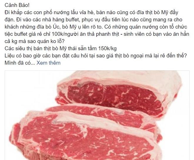 Thit bo Uc, My nghi 'can dat' vao Viet Nam, Bo Nong nghiep noi gi? hinh anh 2