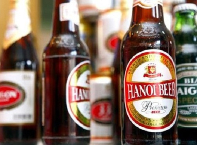 Bia Ha Noi di doi nha may tram tuoi, ra mat chai bia 335 ml hinh anh