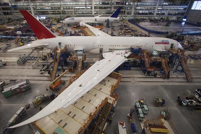 Boeing lại đối mặt khủng hoảng về chất lượng sản xuất 787 Dreamliner