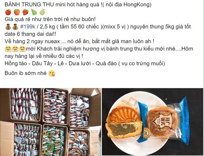 'Banh trung thu Hong Kong' gia duoi 5.000 dong/cai ban day cho mang hinh anh 1
