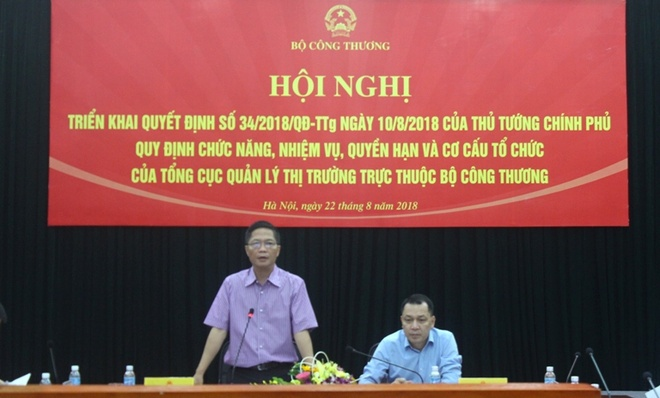 Bo truong Cong Thuong chua xot voi tieu cuc cua quan ly thi truong hinh anh 1