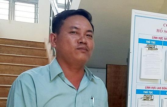 Truong cong an xa da thau ca xin loi nguoi dan cho Dien Ban hinh anh