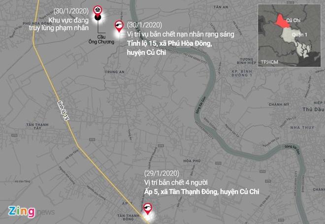 Mo rong truy lung nghi can ban chet 5 nguoi sang Tay Ninh hinh anh 15 CCmap_zing.jpg
