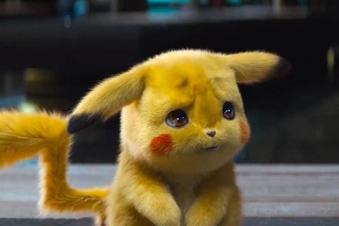 """Tạo hình thú vị và dễ thương của Pikachu cùng màn lồng tiếng xuất sắc từ """"Deadpool"""" Ryan Reynolds tạo ra thành công cho phim. Ảnh: Polygon."""