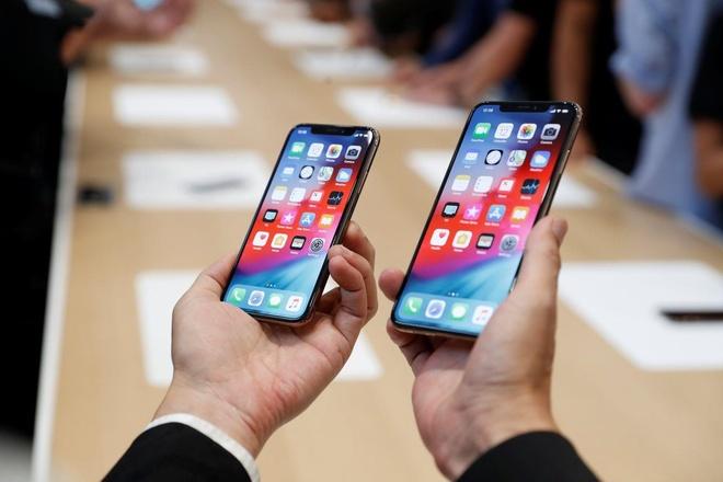 iPhone sut giam trong bao cao kinh doanh anh 1