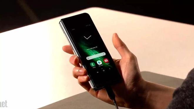 Ngoai Samsung va Huawei, thi truong smartphone man hinh gap con ai? hinh anh 1