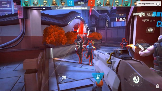 """Overwatch"" phien ban mobile ra mat anh 11"