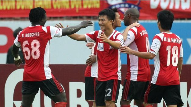 HLV Tran Binh Su: 'Dong Nai quyet tam da tron V.League 2014' hinh anh 2 Đồng Nai quyết tâm đá trọn V.League bằng lực lượng hiện có.