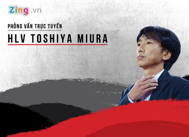 HLV Miura va doi truong U23 Viet Nam tra loi truc tuyen hinh anh