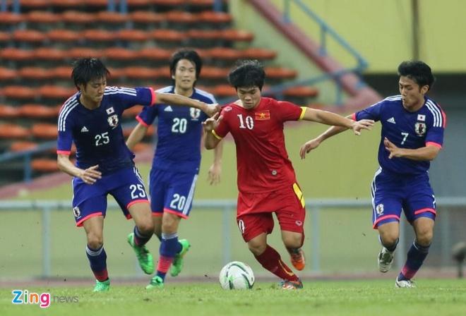 Gia ve xem U23 Viet Nam dau CLB Nhat Ban tu 100.000 dong hinh anh 1