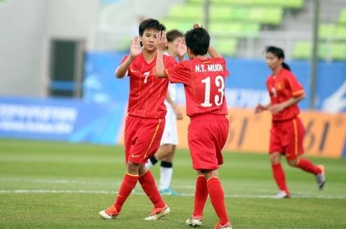 DT nu Viet Nam vui dap Malaysia bang ty so 7-0 hinh anh