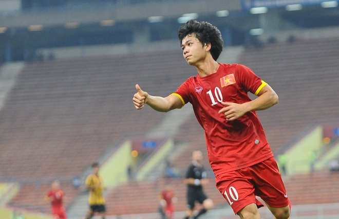 Cong Phuong duoc tin nhiem mac ao so 10 o U23 Viet Nam hinh anh