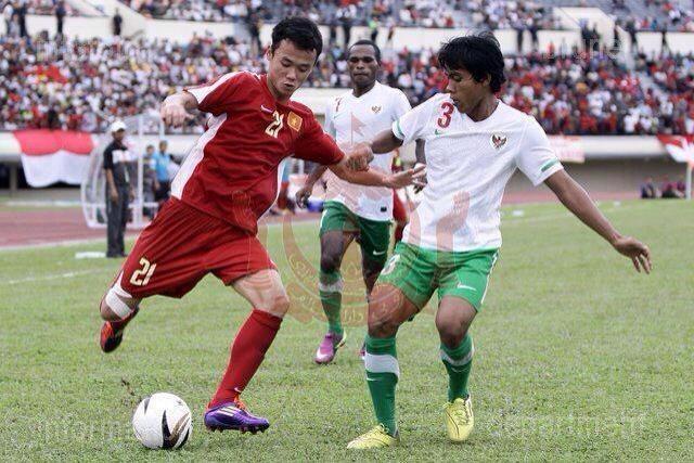 Cuu vua pha luoi U19 DNA buon vi bi HLV Miura phot lo hinh anh 2 Xuân Nam (số 21) trong màu áo U19 Việt Nam trước đây.