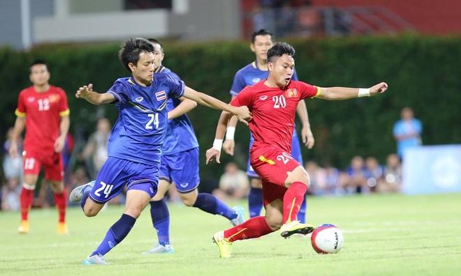 'U23 Viet Nam dang thi dau bang so doan' hinh anh