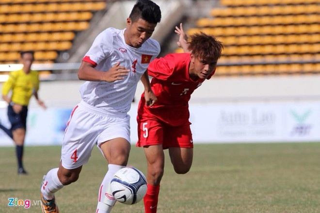 Thang 5-0, U19 Viet Nam dan dau bang vong loai chau A hinh anh 1