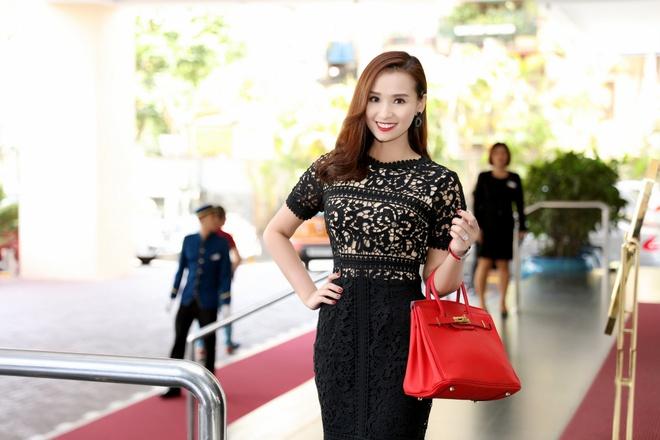 La Thanh Huyen, Hong Dang dong cap trong phim moi hinh anh 2