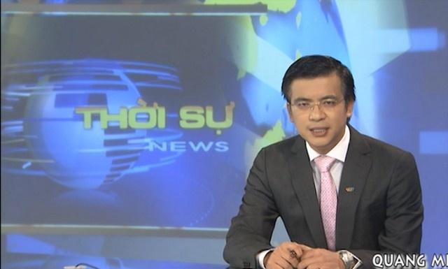 BTV Quang Minh - MC an tuong cua VTV hinh anh