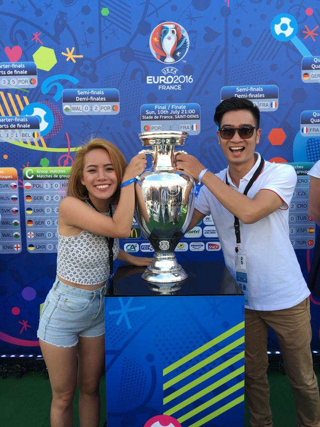 Slim V mang co Viet Nam den Chung ket Euro 2016 hinh anh 2