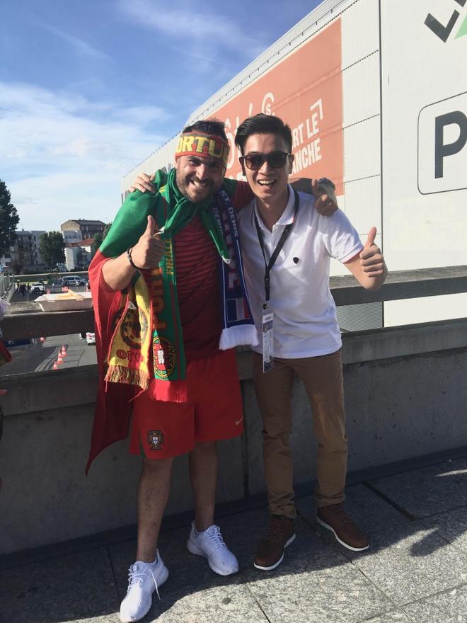 Slim V mang co Viet Nam den Chung ket Euro 2016 hinh anh 1