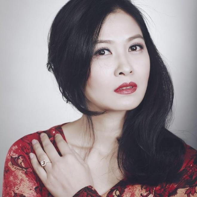 Thuy Ha: 'Chong van doi toi den 3h sang' hinh anh 1