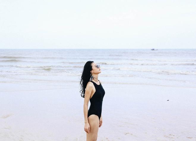 Hoa hau the thao Tran Thi Quynh goi cam voi bikini hinh anh 3