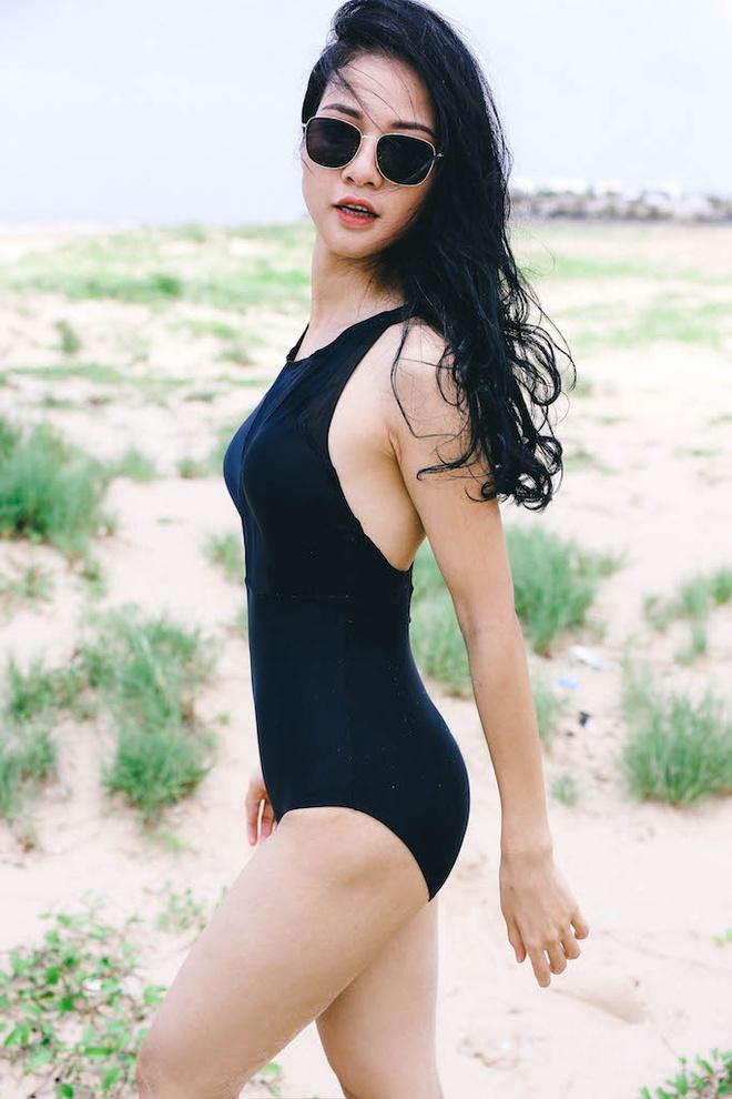 Hoa hau the thao Tran Thi Quynh goi cam voi bikini hinh anh 1