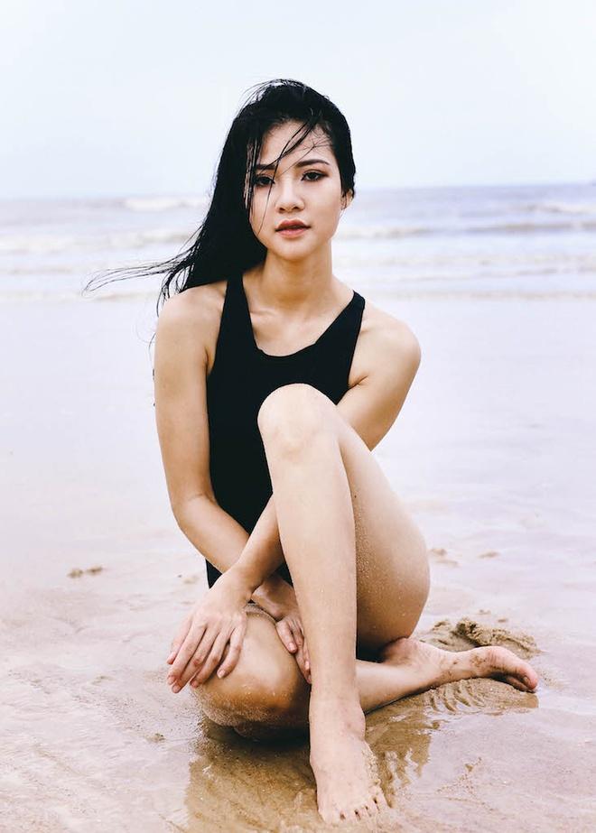 Hoa hau the thao Tran Thi Quynh goi cam voi bikini hinh anh 2