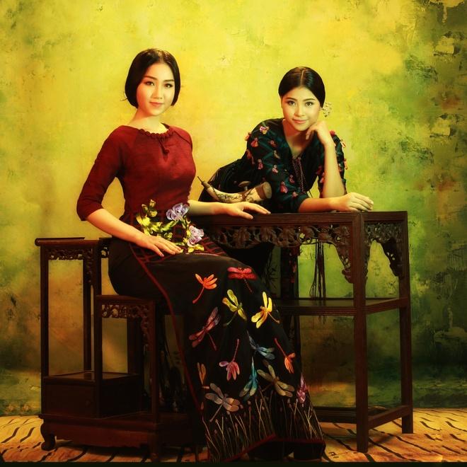 NTK Lan Huong gioi thieu ao dai Viet tai Trung Quoc hinh anh 3